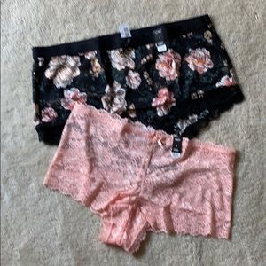 NEW torrid lace cheeky and sexy brief panties 1X